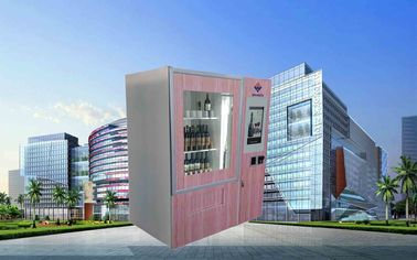 中国 CE FCC Winnsen Wine Vending Machine For Shopping Mall With Credit Card Reader Payment 工場