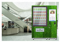 Restaurant University Gym Salad Vending Machine With Conveyor And Remote Control System