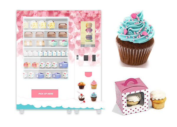 Winnsen High Tech Food Vending Machine , Automatic Cupcake Vending Machine
