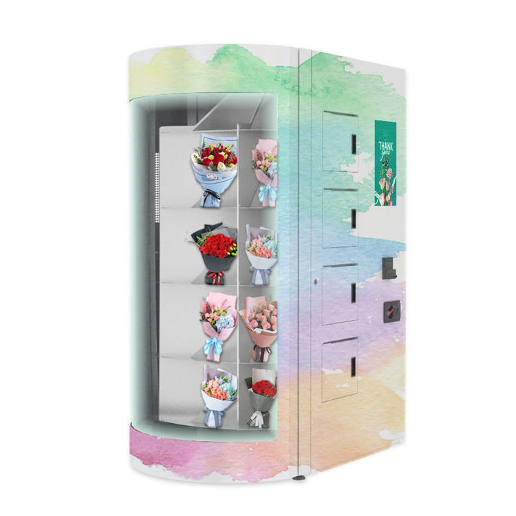 Subway Self Service OEM ODM Automatic Gifts Flower Vending Machine
